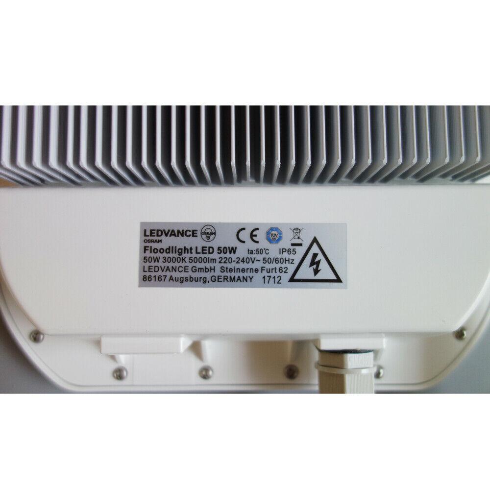 Sehr Osram LEDVANCE LED Strahler 50 Watt IP65 warmweiß 3000K Fluter LC68