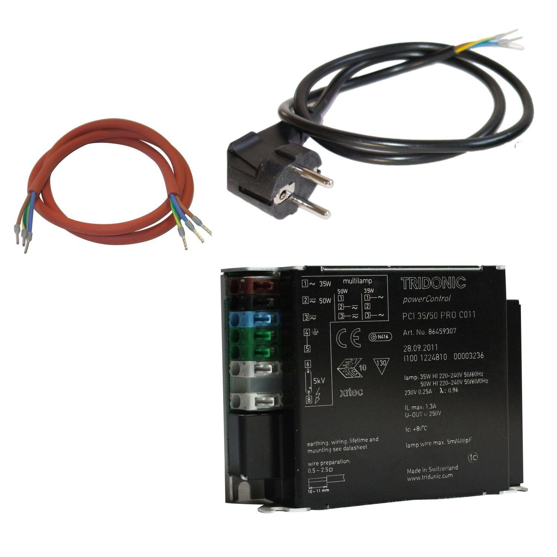 Tridonic PCI PRO multi 35 + 50 Watt EVG Vorschaltgerät Bright Sun ...